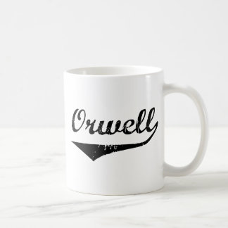 Orwell Classic White Coffee Mug