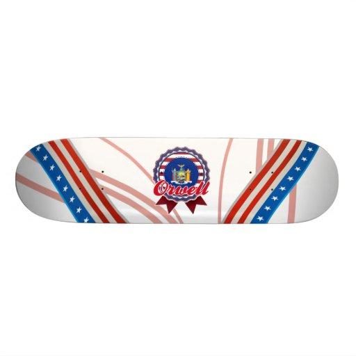 Orwell, NY Tablas De Skate