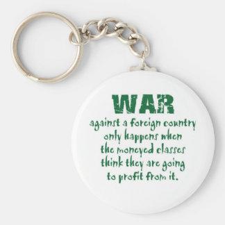 Orwell on War Keychain