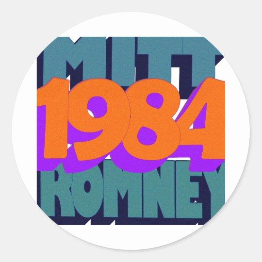 Orwell.png Classic Round Sticker