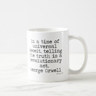 Orwell Truth Coffee Mug