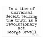 Orwell Truth Postcards