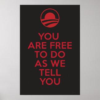 Orwellian Obama 2 Impresiones