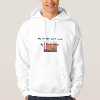Oryx Antelope, my property dont totch , big hor... Hoodie