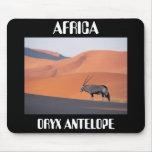 Oryx Antelope, ORYX ANTELOPE, AFRICA Mouse Pad