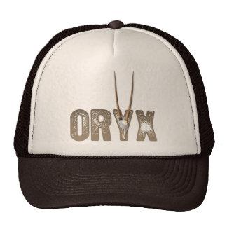 Oryx - bestia del cráneo del desierto de Namibia Á Gorras