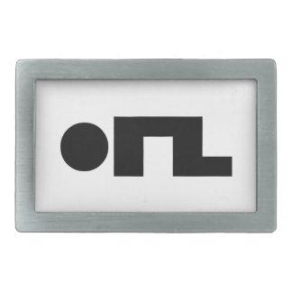 ORZ Emoticon Kaomoji Emoji Belt Buckle