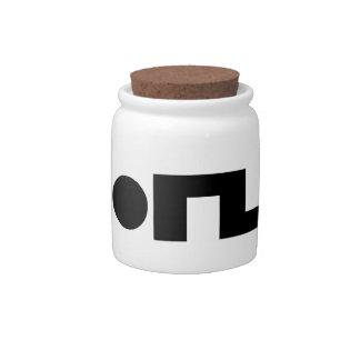 ORZ Emoticon Kaomoji Emoji Candy Dish