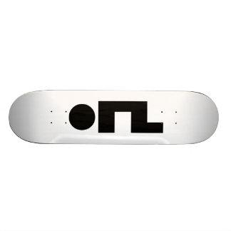 ORZ Emoticon Kaomoji Emoji Skateboard Deck