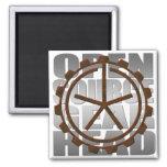 "OSAEI ""Open Source Gearhead"" Logo Fridge Magnets"