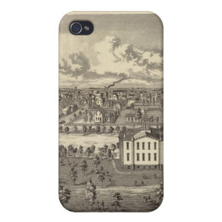 Osage Bldgs, farms, residences iPhone 4 Cases