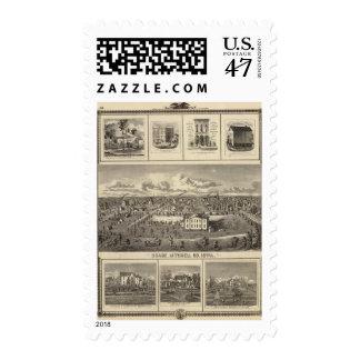 Osage Bldgs, farms, residences Postage