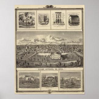 Osage Bldgs, farms, residences Print
