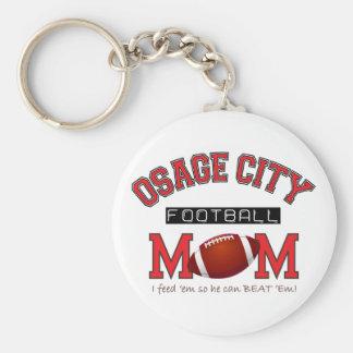 Osage City Football MOM Keychain