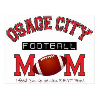 Osage City Football MOM Postcard