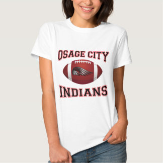 Osage City Indians Tribal Football Shirt
