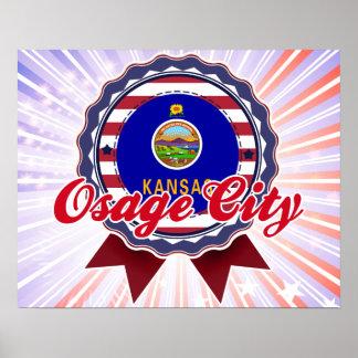 Osage City, KS Posters