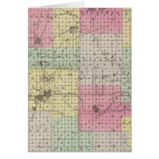 Osage County, Kansas Card