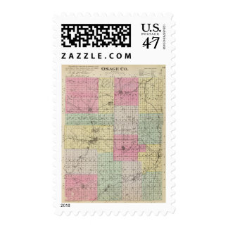 Osage County, Kansas Postage