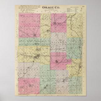 Osage County, Kansas Poster