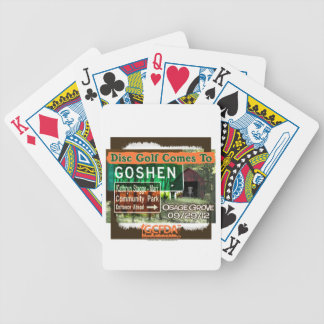 Osage Grove Disc Golf Grand Opening Bicycle Playing Cards