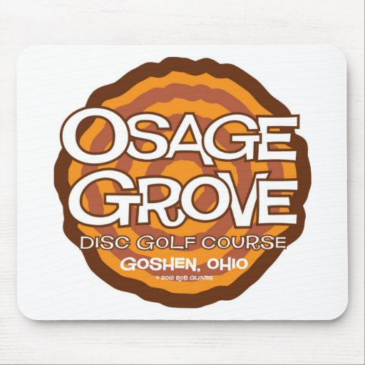 Osage Grove Disc Golf Mousepad