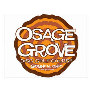 Osage Grove Disc Golf Post Card