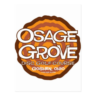 Osage Grove Disc Golf Postcard