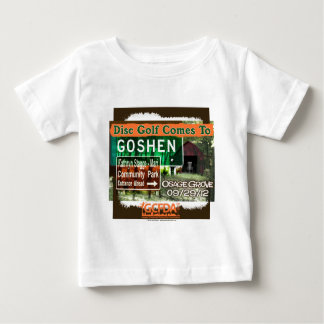 Osage Grove Goshen Disc Golf Grand Opening Baby T-Shirt