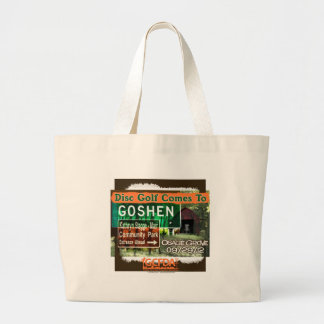 Osage Grove Goshen Disc Golf Grand Opening Tote Bags