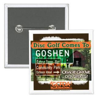 Osage Grove Goshen Disc Golf Grand Opening Pins