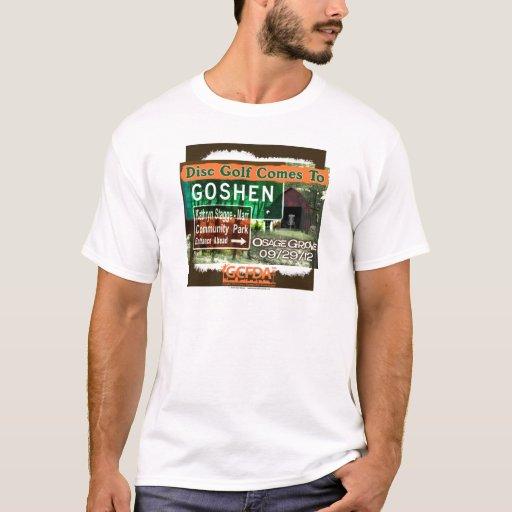 Osage Grove Goshen Disc Golf Grand Opening T-Shirt