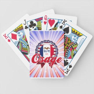 Osage IA Bicycle Card Decks