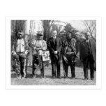 Osage indians, 1925 postales