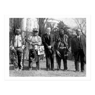 Osage Indians, 1925 Postcard