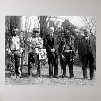 Osage Indians: 1925 Poster