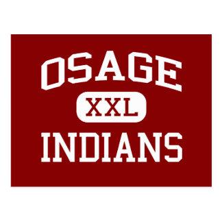 Osage - Indians - Junior - Lake Ozark Missouri Postcard