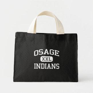 Osage - indios - joven - lago Ozark Missouri Bolsa De Mano