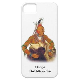 Osage - llamado Ni-U-Kon-Ska iPhone 5 Carcasas