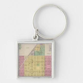 Osage Mission, Galesburg, and Earlton, Kansas Keychain