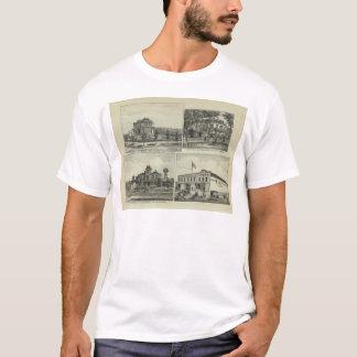 Osage, Mound, and Burlington, Kansas T-Shirt