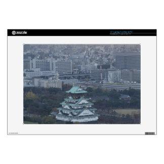 "Osaka Castle Decals For 15"" Laptops"