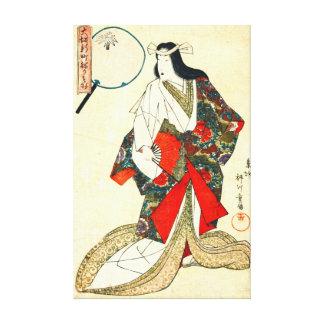 Osaka Courtesan Wakamurasaki 1821 Canvas Prints