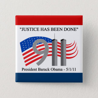 Osama Bin Laden Dead - Justice has been done Button