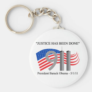 Osama Bin Laden Dead - Justice has been done Keychain