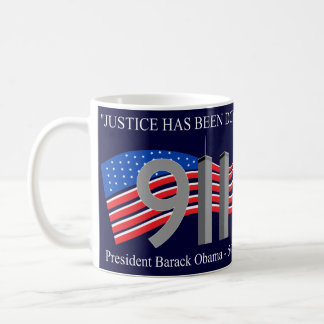 Osama Bin Laden Dead - Justice has been done Classic White Coffee Mug