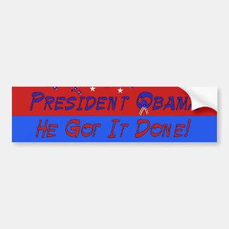 Osama Bin Laden is Dead Bumper Sticker