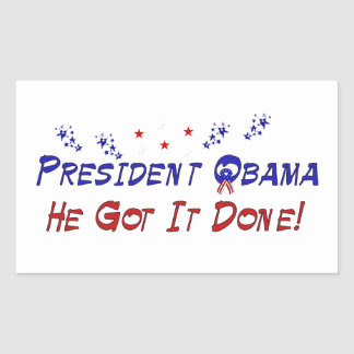 Osama Bin Laden is Dead Rectangular Sticker