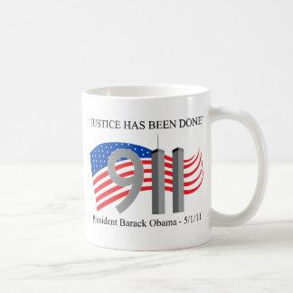 Osama Bin Laden - Justice Has Been Done Coffee Mug
