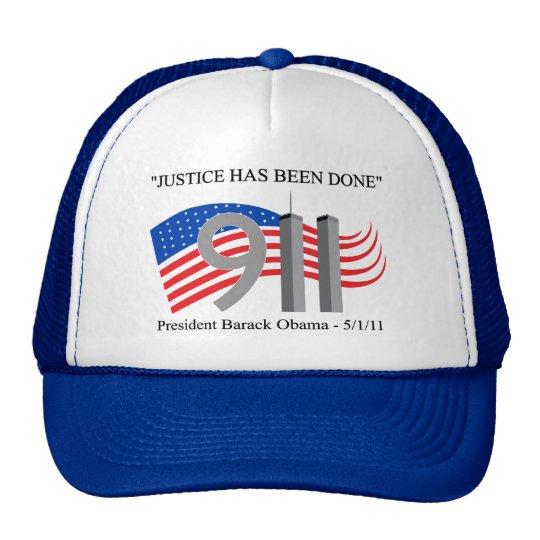 Osama bin Laden muerto - se ha hecho la justicia Gorras